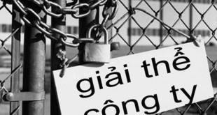 giai the cong ty